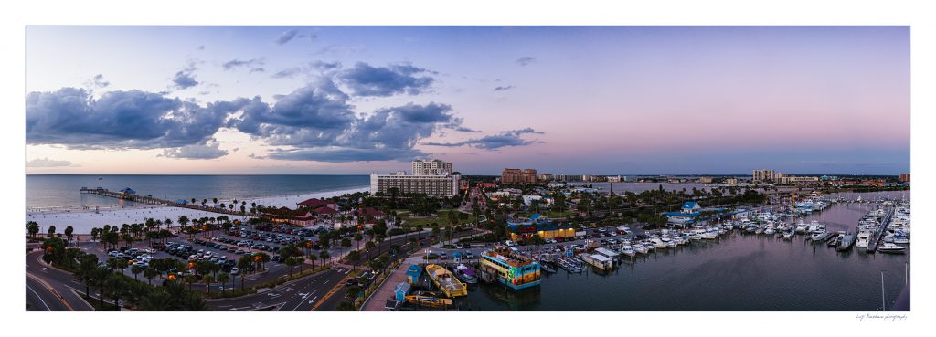 Clearwater Beach Panorama