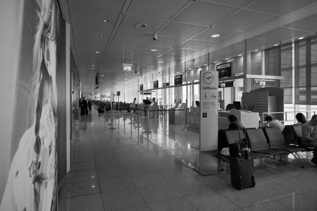 Lufthansa Gate
